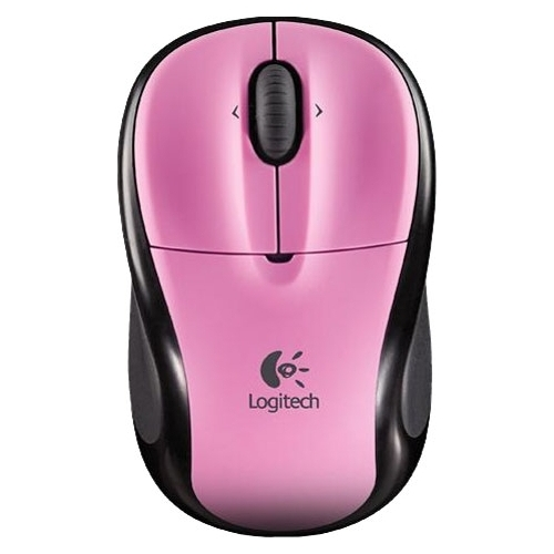 Мышь Logitech V220 Cordless Optical Mouse for Laptops Rose Pink USB