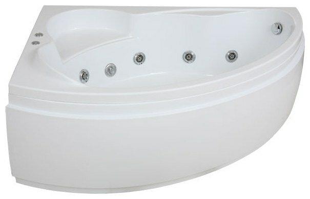 Отдельно стоящая ванна BAS Лагуна 170x110 с гидромассажем