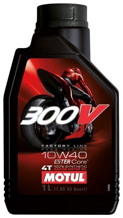 Моторное масло Motul 300V Factory Line Road Racing 10W40 1 л