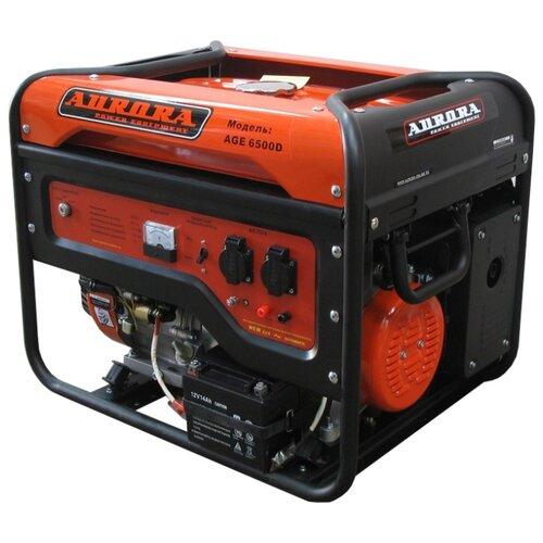 Бензиновый генератор Aurora AGE 6500 D (5000 Вт) matrix socolor beauty dream age d age 505m цвет d age 5m светлый шатен мокка variant hex name 8a584f
