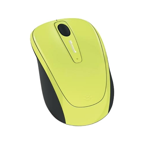 Мышь Microsoft Wireless Mobile Mouse 3500 Limited Edition Citron Green USB