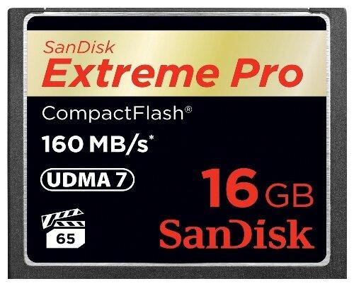 SanDisk Extreme Pro CompactFlash 160MB/s