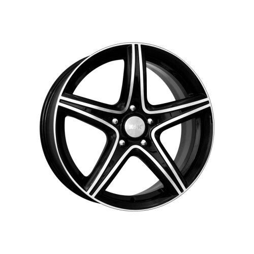 Фото - Колесный диск K&K Барракуда 7.5х17/5х114.3 D67.1 ET45, Алмаз черный колесный диск k