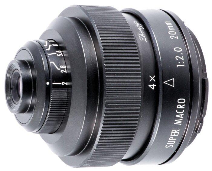 Объектив Mitakon Creator 20mm f/2 4.5X Super Macro Nikon F
