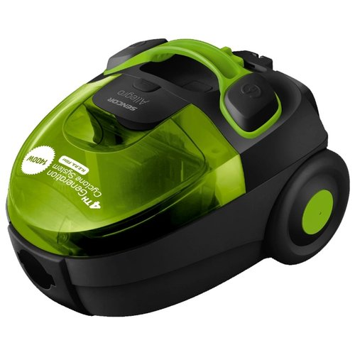 Пылесос Sencor SVC 510, черный/зеленый робот пылесос sencor svc 9031 черный