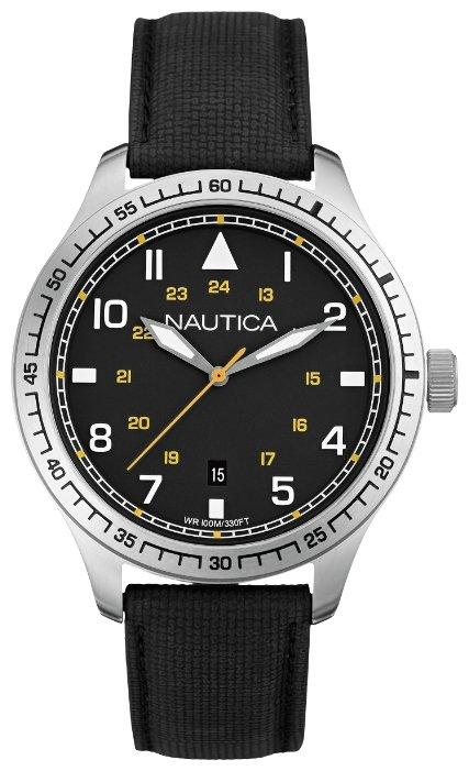 Мужские часы Nautica A10097G Женские часы Adriatica A3424.51B3Q