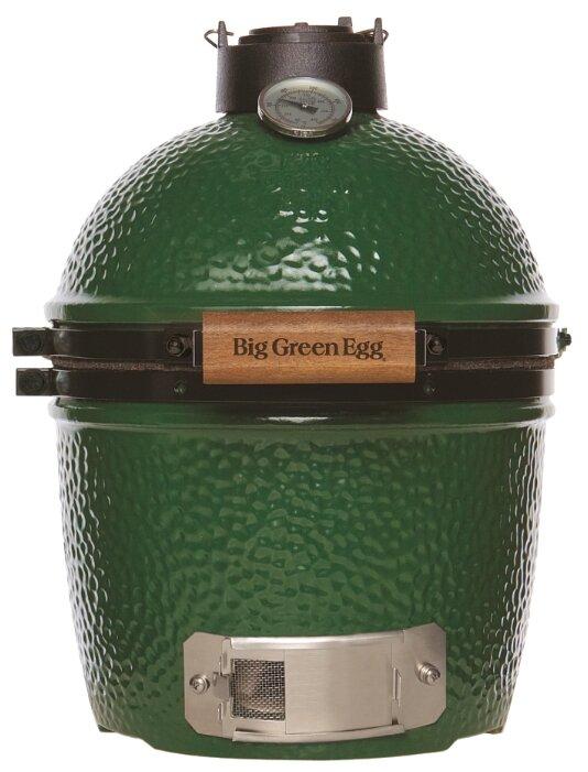 Big Green Egg Керамический гриль Big Green Egg Mini Max 15, зелёный