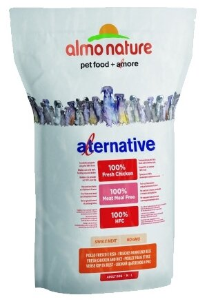 Корм для собак Almo Nature Rouge Label курица (для средних пород)