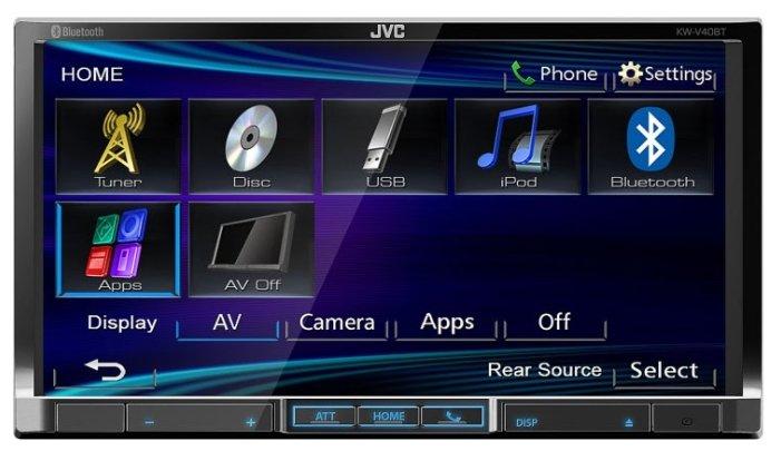 JVC KW-V40BTEE