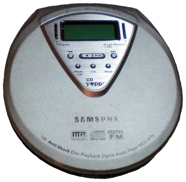 Плеер Samsung MCD-SF75