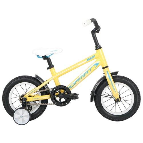 цена на Детский велосипед Format Girl 12 (2016) желтый (требует финальной сборки)