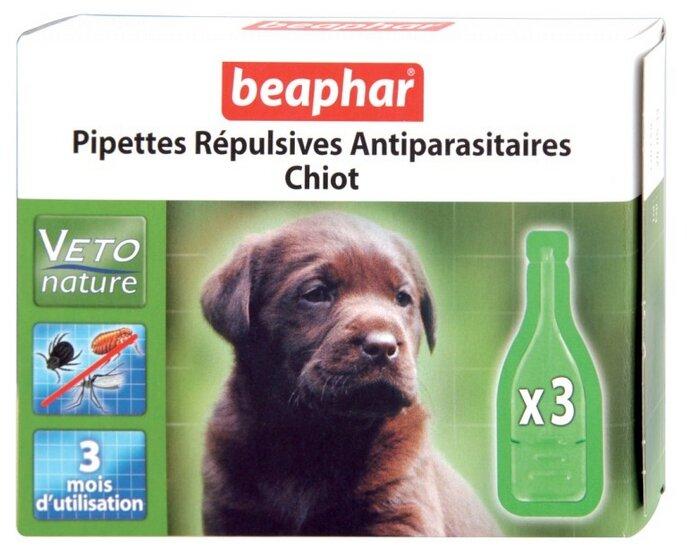 Beaphar Капли Био от блох, клещей и комаров для щенков
