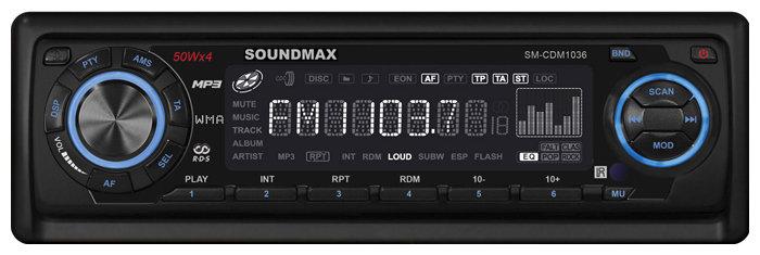 Автомагнитола SoundMAX SM-CDM1036