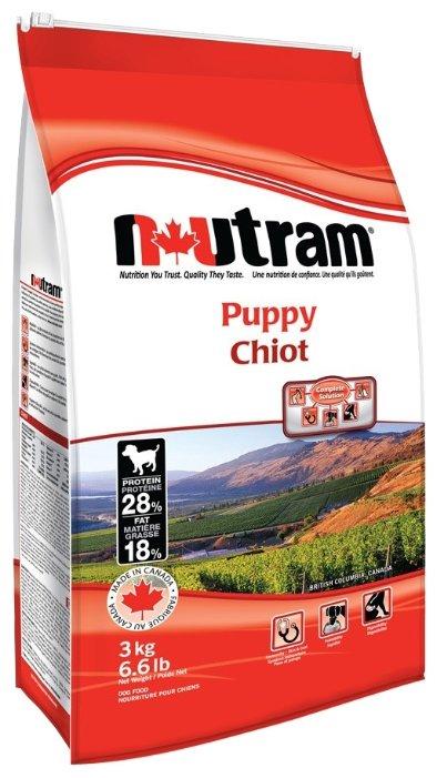 Корм для собак Nutram Puppy