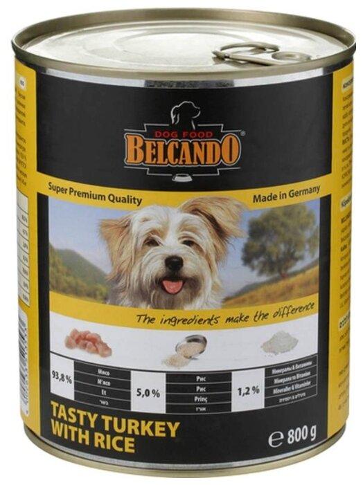 Корм для собак Belcando Вкусная индейка с рисом (0.8 кг) 12 шт.