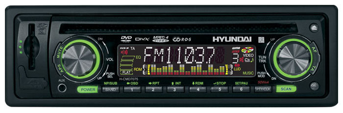 Автомагнитола Hyundai H-CMD7075