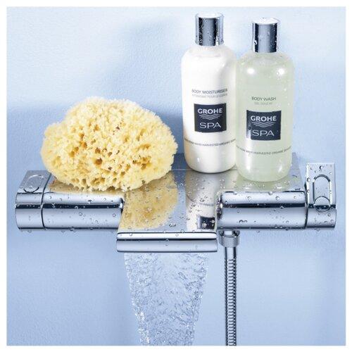Смеситель для ванны с подключением душа Grohe Grohtherm 2000 34464001 смеситель для ванны с подключением душа grohe grohtherm cube 34502000