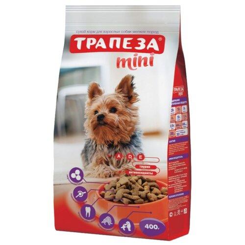 Корм для собак Трапеза Мини для взрослых собак мелких пород (0.4 кг)Корма для собак<br>
