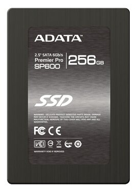 A-DATA SATA III 256Gb ASP600S3-256GM-C Premier Pro SP600 2.5""