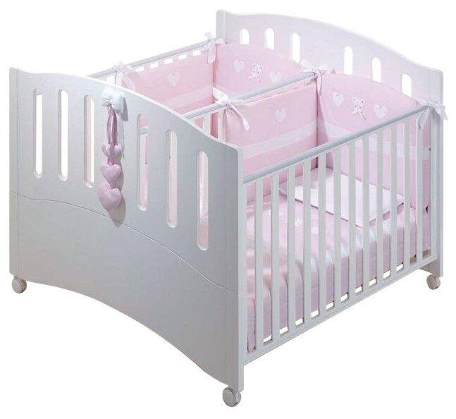 Кроватка Azzurra Design Gemini (трансформер)