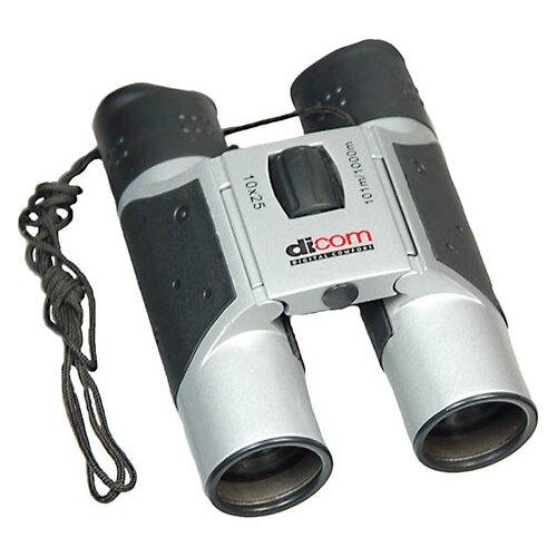 Фото - Бинокль Dicom O1025 Observer 10x25mm серый бинокль dicom e1570 eagle 15x70mm