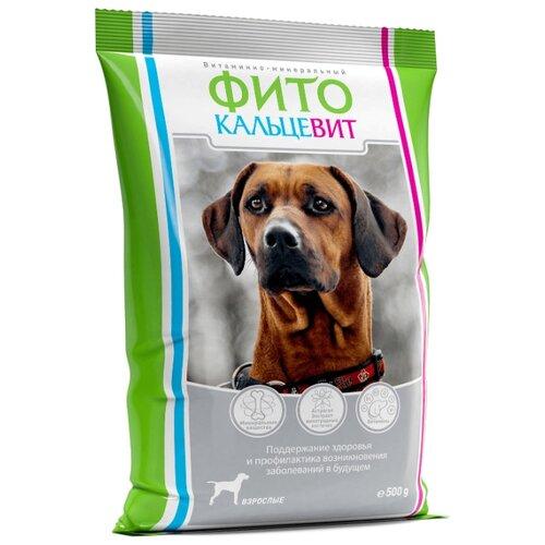 Добавка в корм Фито Кальцевит для взрослых собак 500 г краска фито купить