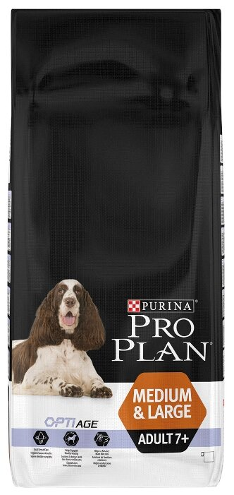 Корм для собак Purina Pro Plan Medium & Large Adult 7+ сanine dry