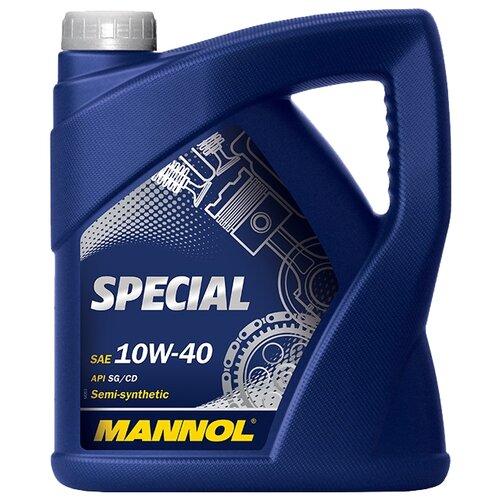 Фото - Полусинтетическое моторное масло Mannol Special 10W-40 4 л минеральное моторное масло mannol universal 15w 40 4 л