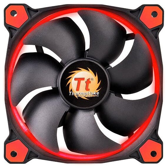 Thermaltake Система охлаждения для корпуса Thermaltake Riing 12 LED Red