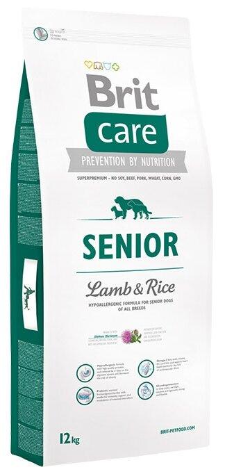 Корм для собак Brit Care Senior Lamb & Rice