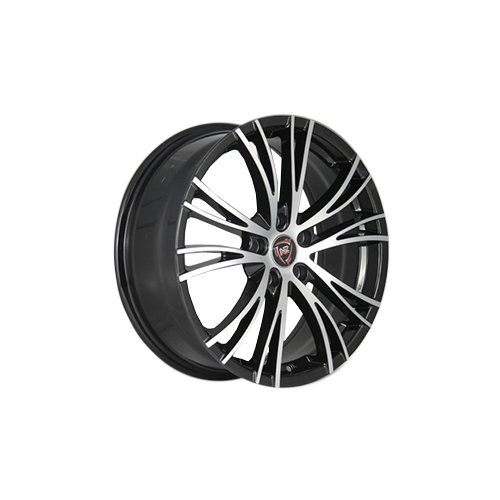 Колесный диск NZ Wheels F-53 7x17/5x112 D66.6 ET43 BKF колесный диск nz wheels sh669 7x17 5x112 d57 1 et43 silver