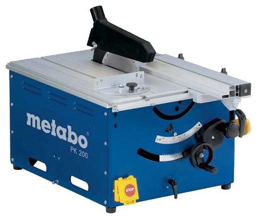Распиловочный станок Metabo PK 200 WNB 0102001001