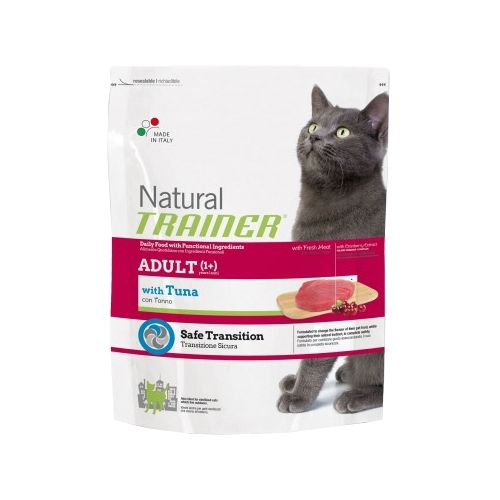 TRAINER (7.5 кг) Natural Adult cat Tuna dry Корма для кошек