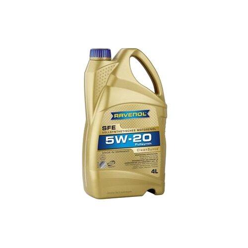 Моторное масло Ravenol Super Fuel Economy SFE SAE 5W-20 4 л