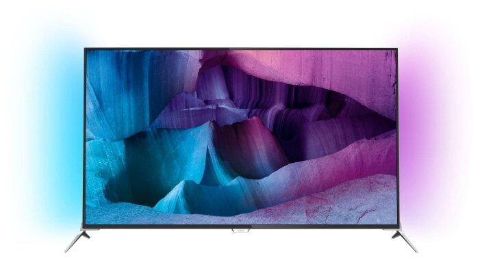Сравнение с Philips 55PUS7100 телевизор