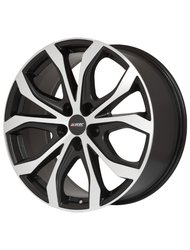 Диск колесный Alutec W10 8.5x19/5x114.3 D70.1 ET40 Racing-black front polished - фото 1