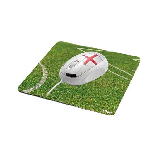 Мышь Trust Football Mouse with Mousepad England USB