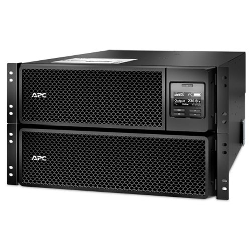 Фото - ИБП с двойным преобразованием APC by Schneider Electric Smart-UPS Online SRT8KRMXLI аккумуляторная батарея apc by schneider electric smx120rmbp2u 1200 а·ч