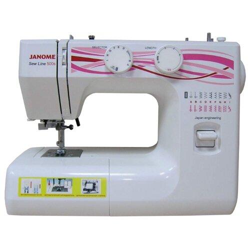 Швейная машина Janome Sew Line 500S bdf 500s