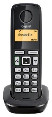 Радиотелефон DECT Gigaset A220 H RUS дополнительная трубка для A220 черный