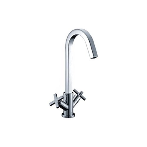 Смеситель для кухни (мойки) WasserKRAFT Weser 7847 двухрычажный хром смеситель для ванны wasserkraft weser 7800 7801