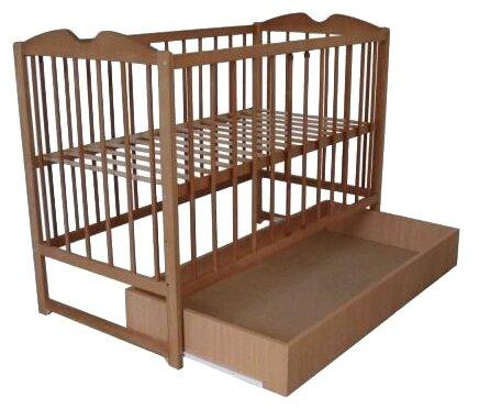Кроватка LETTO Малютка с ящиком