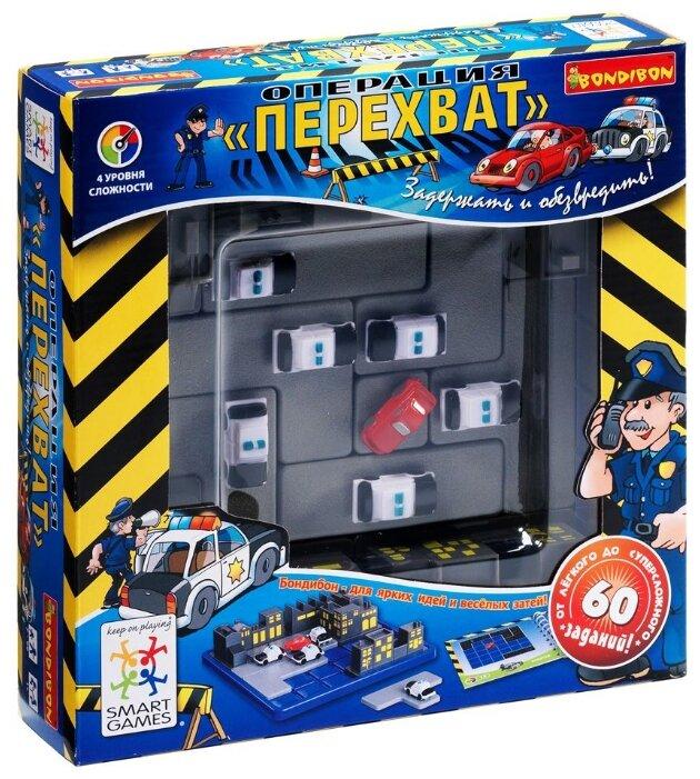 Головоломка BONDIBON Smart Games Операция Перехват (BB0353)