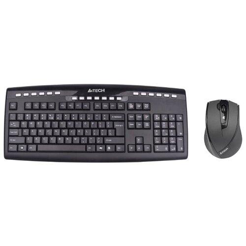 Клавиатура и мышь A4Tech 9200F Black USB