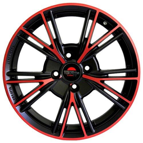 Фото - Колесный диск Yokatta Model-26 6.5x15/4x98 D58.6 ET35 MB+R колесный диск yokatta model 26 6 5x16 5x114 3 d60 1 et45 mb bl