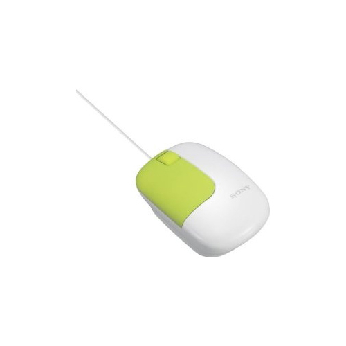 Мышь Sony SMU-C3 White-Green USB