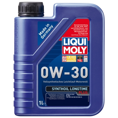 Моторное масло LIQUI MOLY Synthoil Longtime Plus 0W-30 1 л
