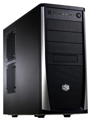 Компьютерный корпус Cooler Master Elite 371 (RC-371) w/o PSU Black/silver