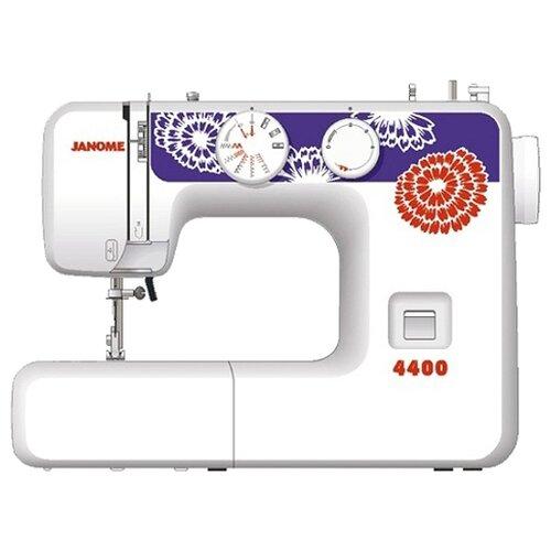 Швейная машина Janome 4400, бело-синий швейная машина janome vs 54s бело сиреневый