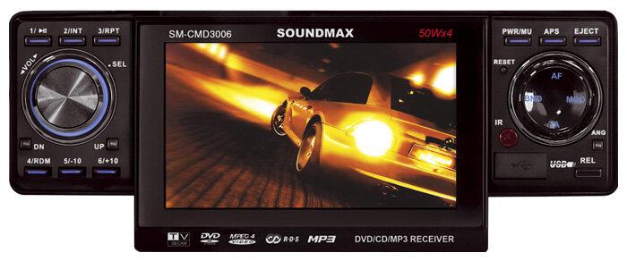 Автомагнитола SoundMAX SM-CMD3006